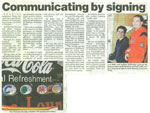 Hearing Awareness Week article, Bega District News